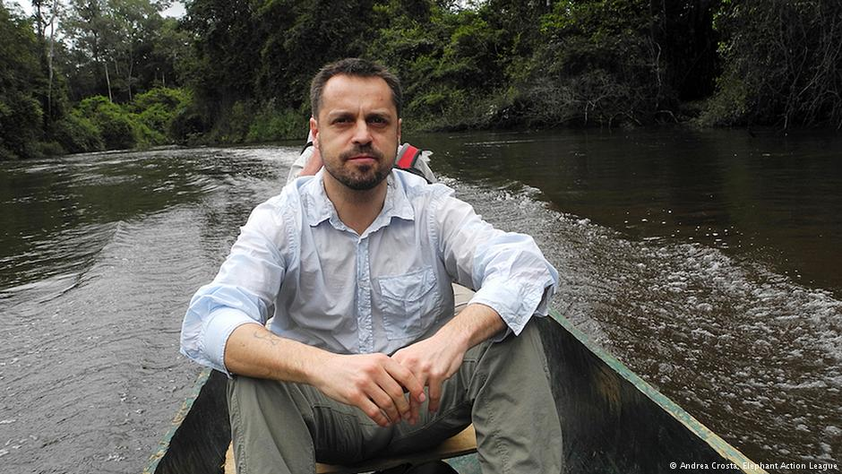 Andrea Crosta, founder of Elephant Action League and WildLeaks