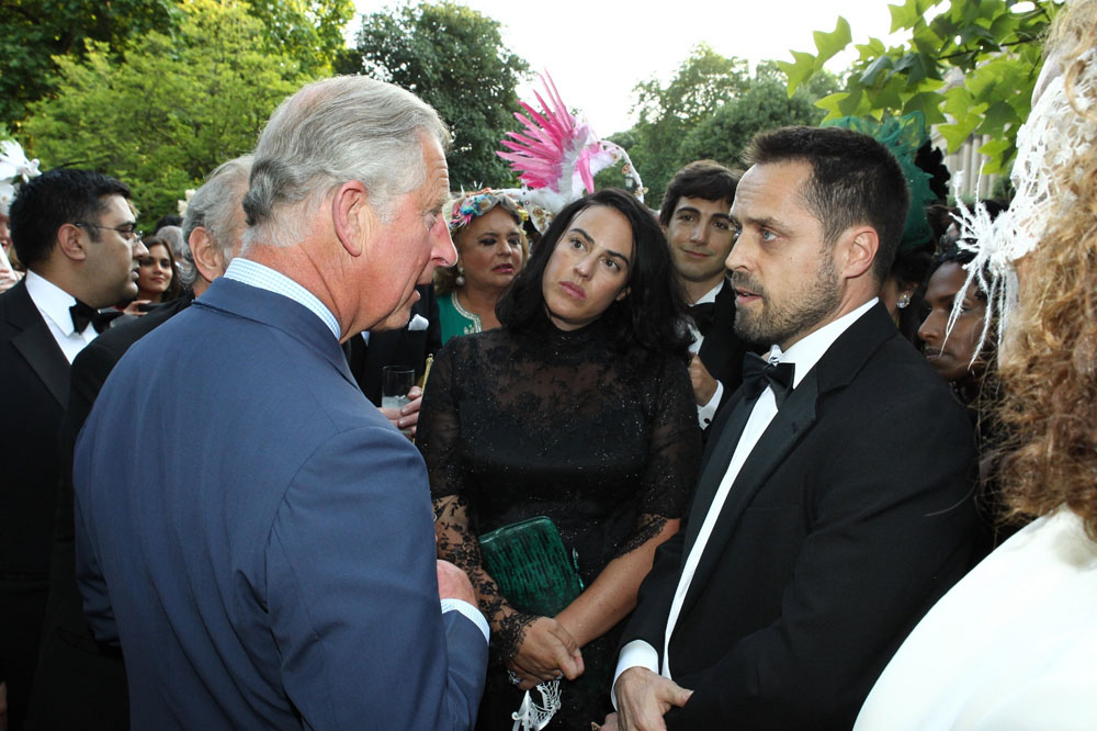 Elephant Action League - Prince Charles and EAL's Founder Mr. Andrea Crosta in London - July 2013 - Ph credits: Elephant Action League