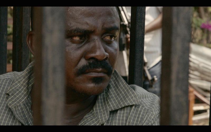 Shetani behind bars in Tanzania - Credit- Terra Mater Factual Studios 2